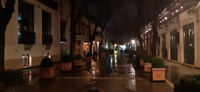 Prazna subotička ulica