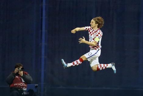 Luka Modrić je bio strelac prvog gola