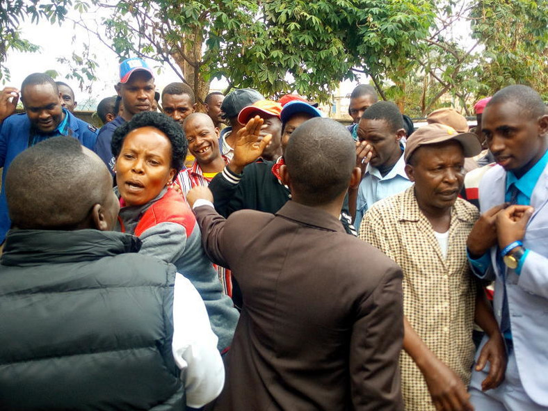 Supporters of MPs Ndindi Nyoro and Maina Kamanda clashed at a press conference