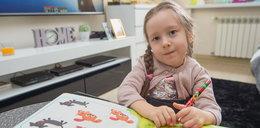 Mała Emilka walczy o zdrowie i marzenia
