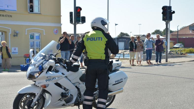 Duński policjant