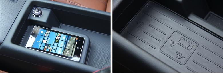 Audi A4 2016 bezprzewodowe zasilanie telefonu