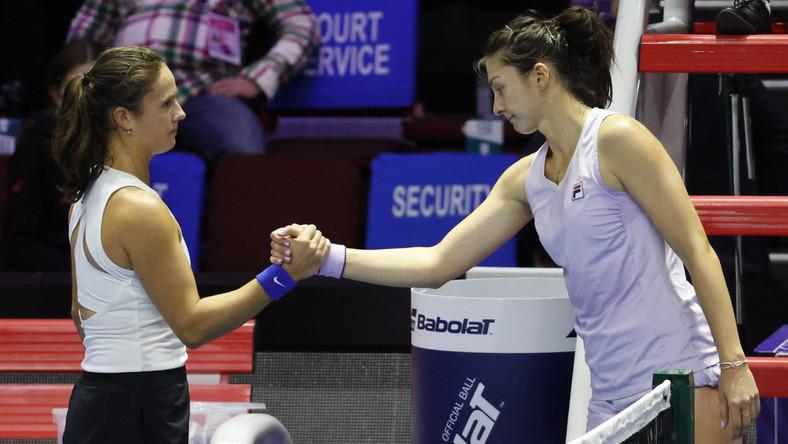 Margarita Gasparyan (z prawej) i Daria Kasatkina