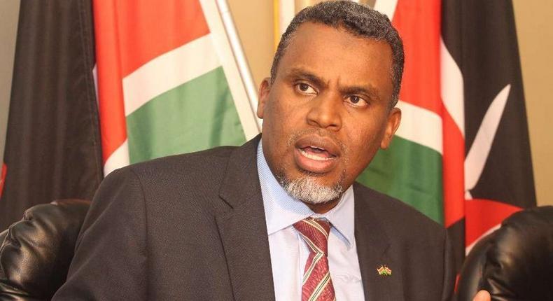 Garissa Senator Yusuf Haji speaks on his son Noordin's work as DPP
