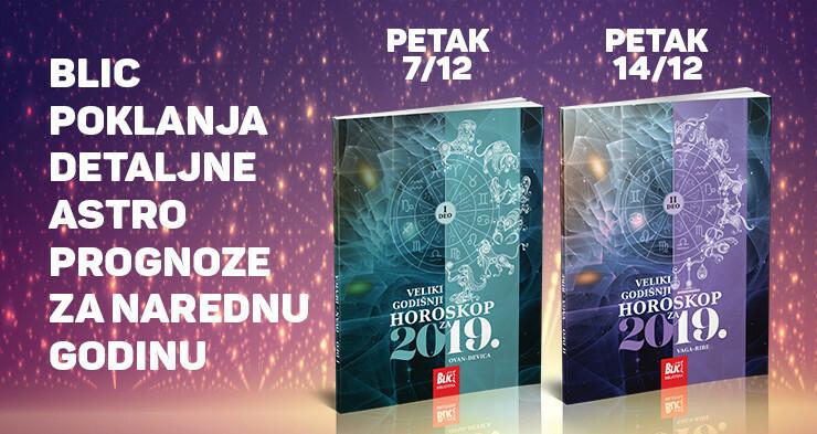 """Poklon uz """"Blic"""": Veliki godišnji horoskop"""