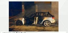 Dramat w Żeronicach. Spłonęli żywcem w samochodzie