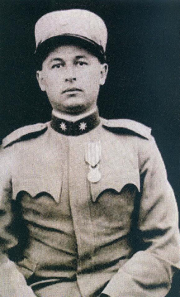Konjički major Uglješa Popović, prvi načelnik Servisa tajne službe iz 1938.