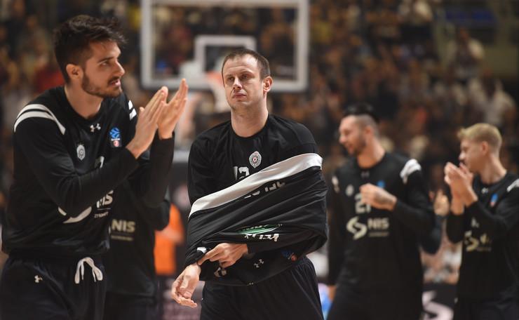 Detalj sa meča KK Partizan - KK Lokomotiva