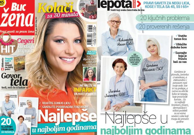 """Nova """"Blic žena"""" na kioske stiže u subotu 15. juna"""