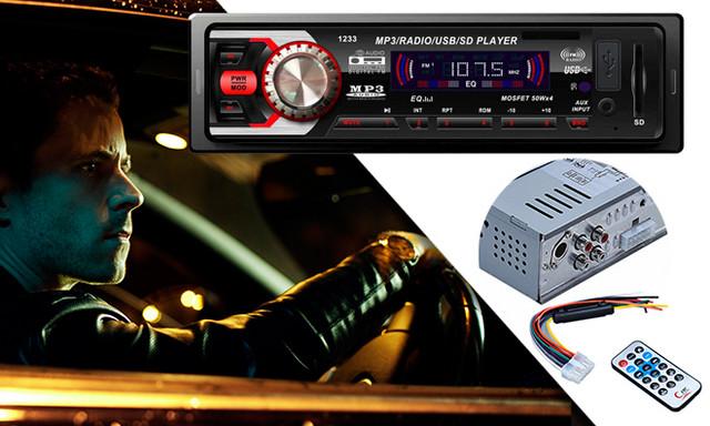 MP3 PRO auto radio sa daljinskim upravljačem
