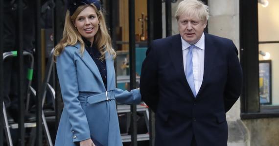 Koronawirus: Wielka Brytania. Narzeczona Borisa Johnsona miała ...