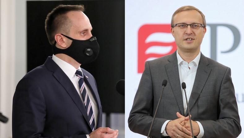 Janusz Kowalski i Paweł Borys