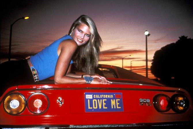 Davne 1983. Kristi je bila lepotica svetske klase... A tako je i danas!