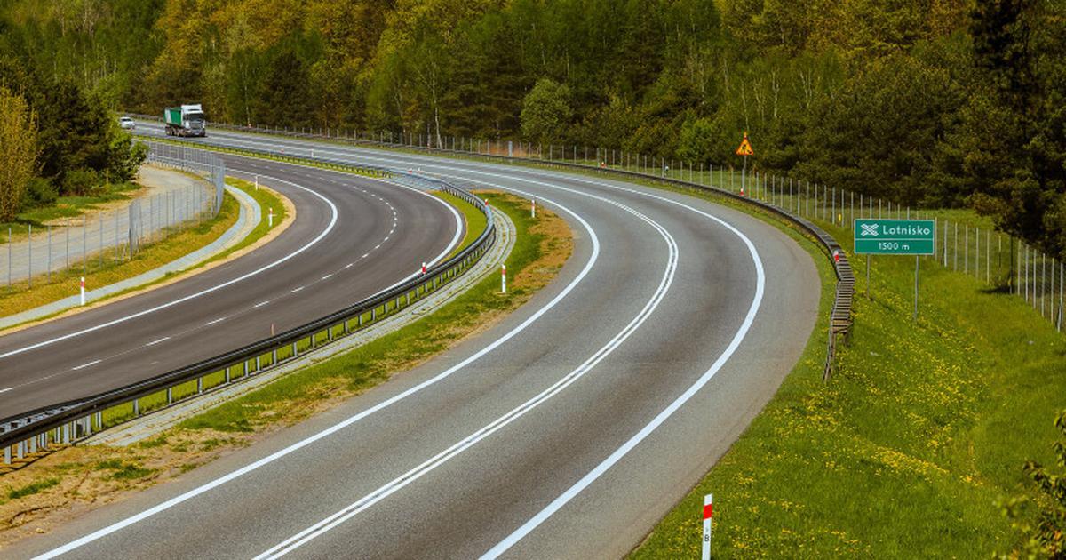 Droga S1 - otwarto drugą jezdnię do lotniska Katowice