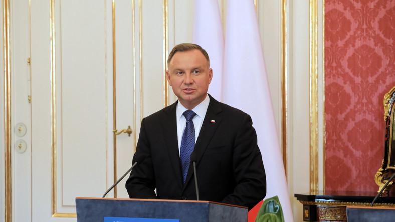 Prezydent Andrzej Duda w Budapeszcie