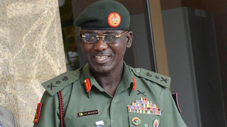 Chief of Army Staff Lt.- Gen. Tukur Buratai