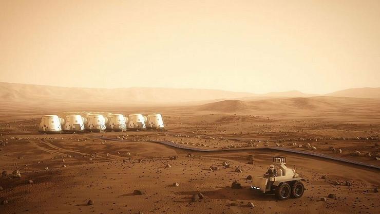 Spoljni izgled buduće kolonije na kompjuterskoj simulaciji