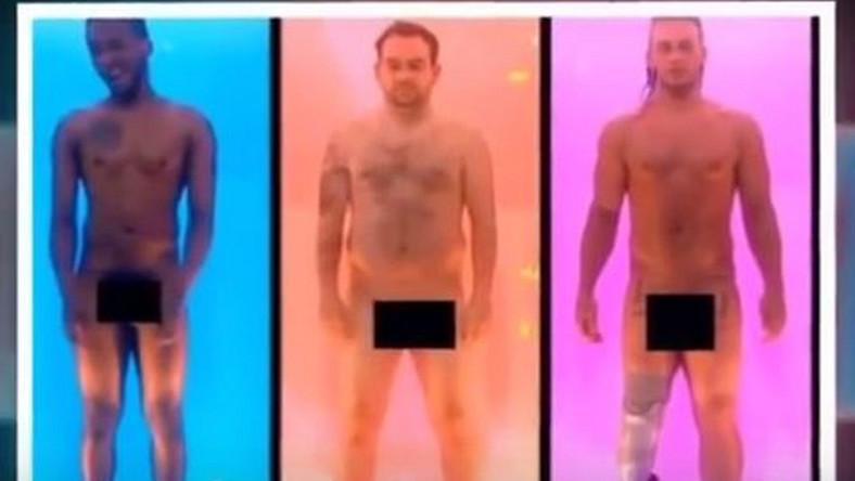 """Kadr z programu """"Naked Attraction"""""""
