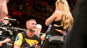 Alexander Gustafsson oświadczył się po walce