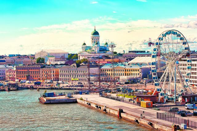 Pogled na panoramu Helsinkija