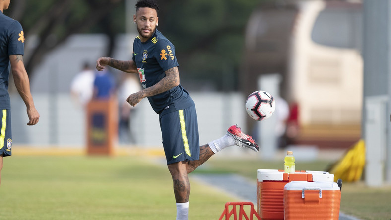 Neymar and his Brazil teammates have resumed training ahead of their friendly games against Senegal and Nigeria  (Twitter/CBF Futebol)