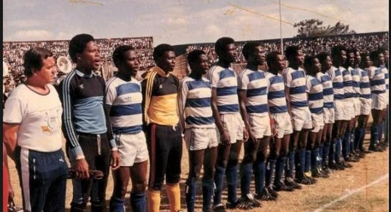 Harambee Stars team back in the days