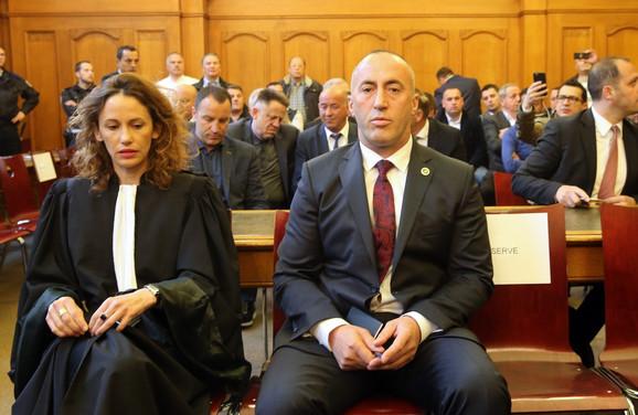 Ramuš Haradinaj danas na sudu