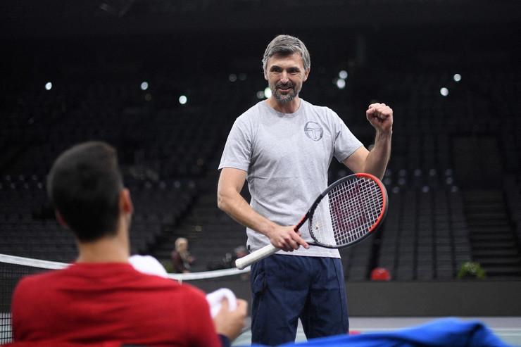 Novak Đoković, Goran Ivanišević