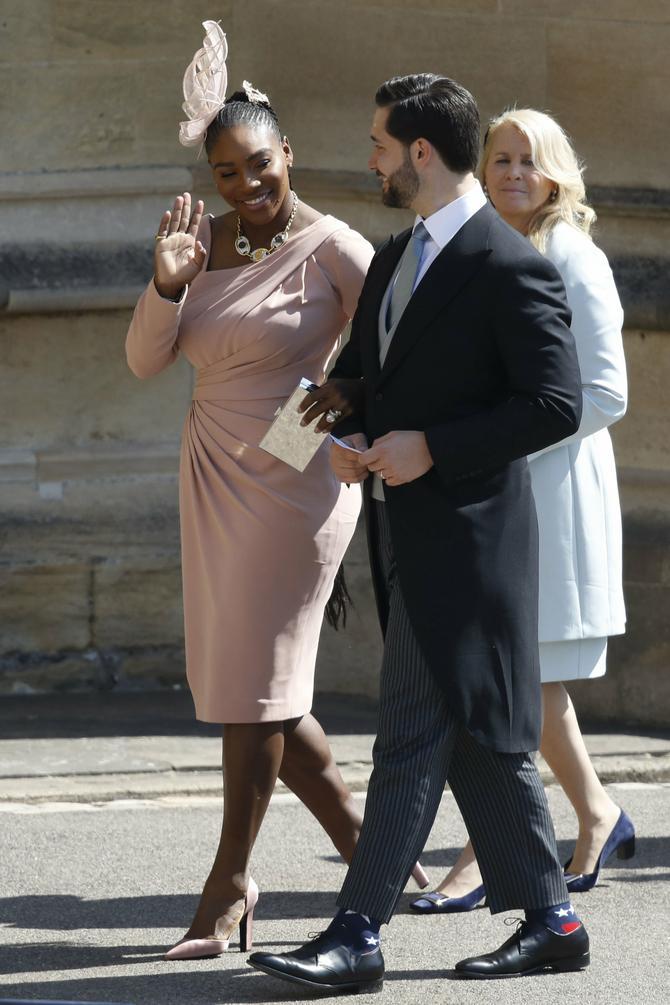Serena blista, a muž