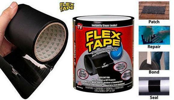 Flex tape vodootporna traka