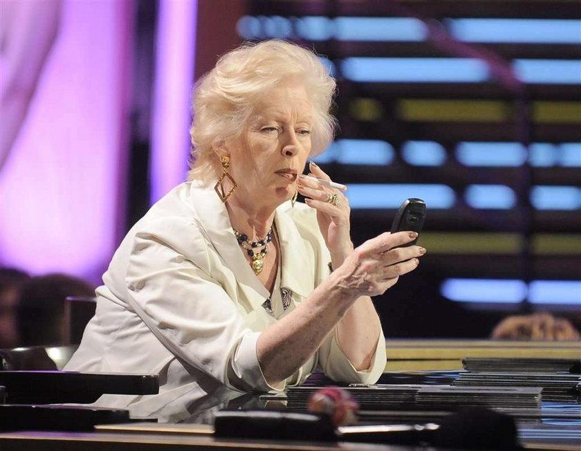 Beata Tyszkiewicz: I tak nie rzucę palenia!