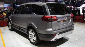 Tata Hexa - Hindusi atakują nowym SUV-em! (Genewa 2015)