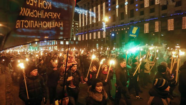 Demonstracja w Kijowie