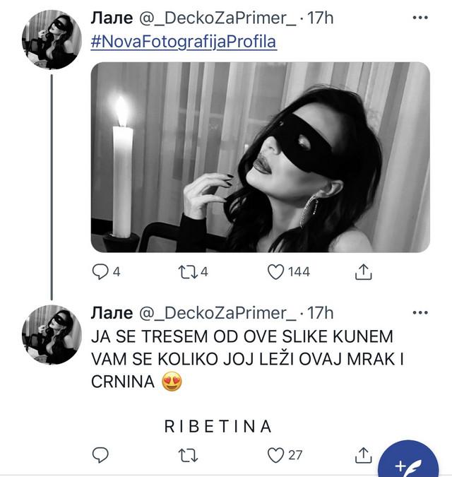 Twitter o Ceci Ražnatović