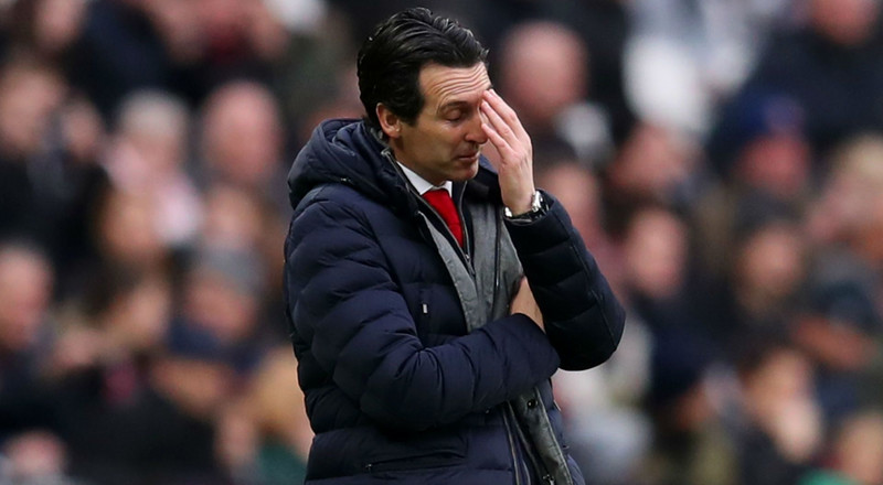 Arsenal sack coach Unai Emery