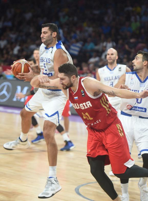Janis Burusis će predvoditi reprezentaciju Grčke na meču protiv Srbije