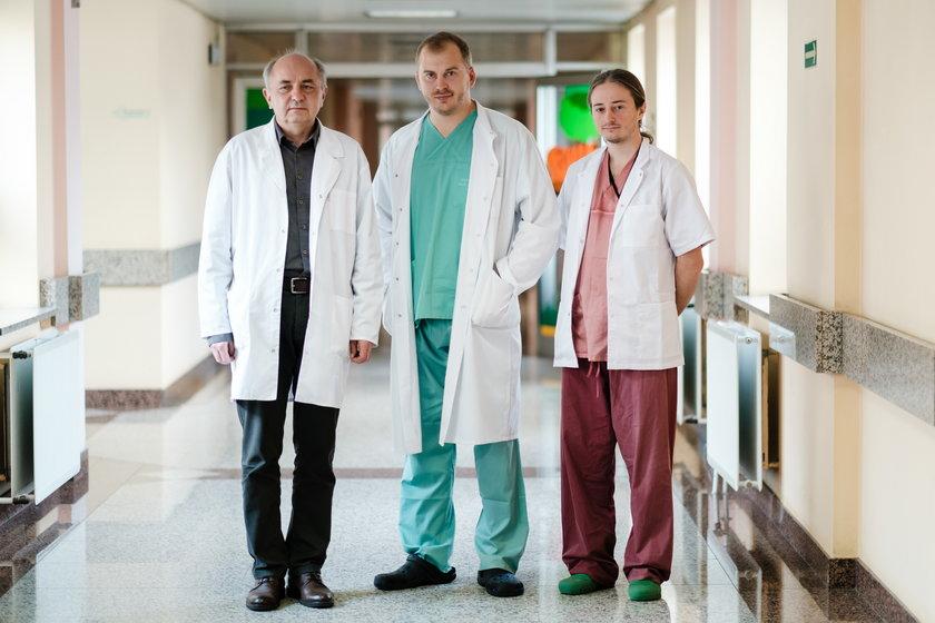 Kardiochirurdzy z GCZD w Katowicach naprawili serduszko małego Wiktorka