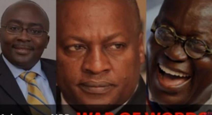 Mahama and Bawumia fight over 'incompetence'