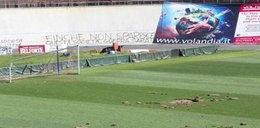 Kibice klubu Serie B zdemolowali własny stadion!