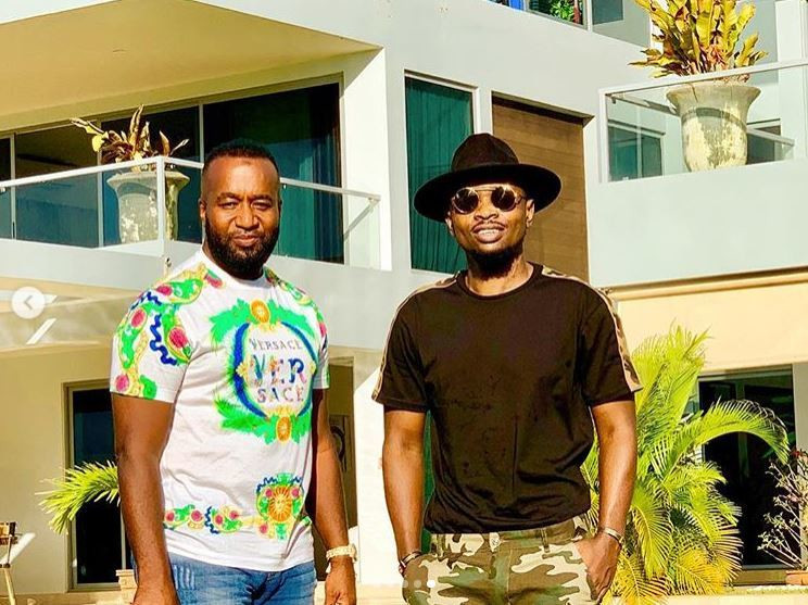 Governor Hassan Joho with Ommy Dimpoz. Ommy Dimpoz hospitalized again