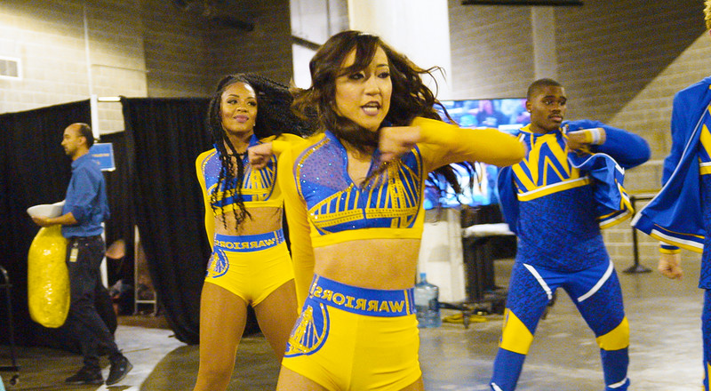 Here's what it's like to be a Golden State Warriors dancer