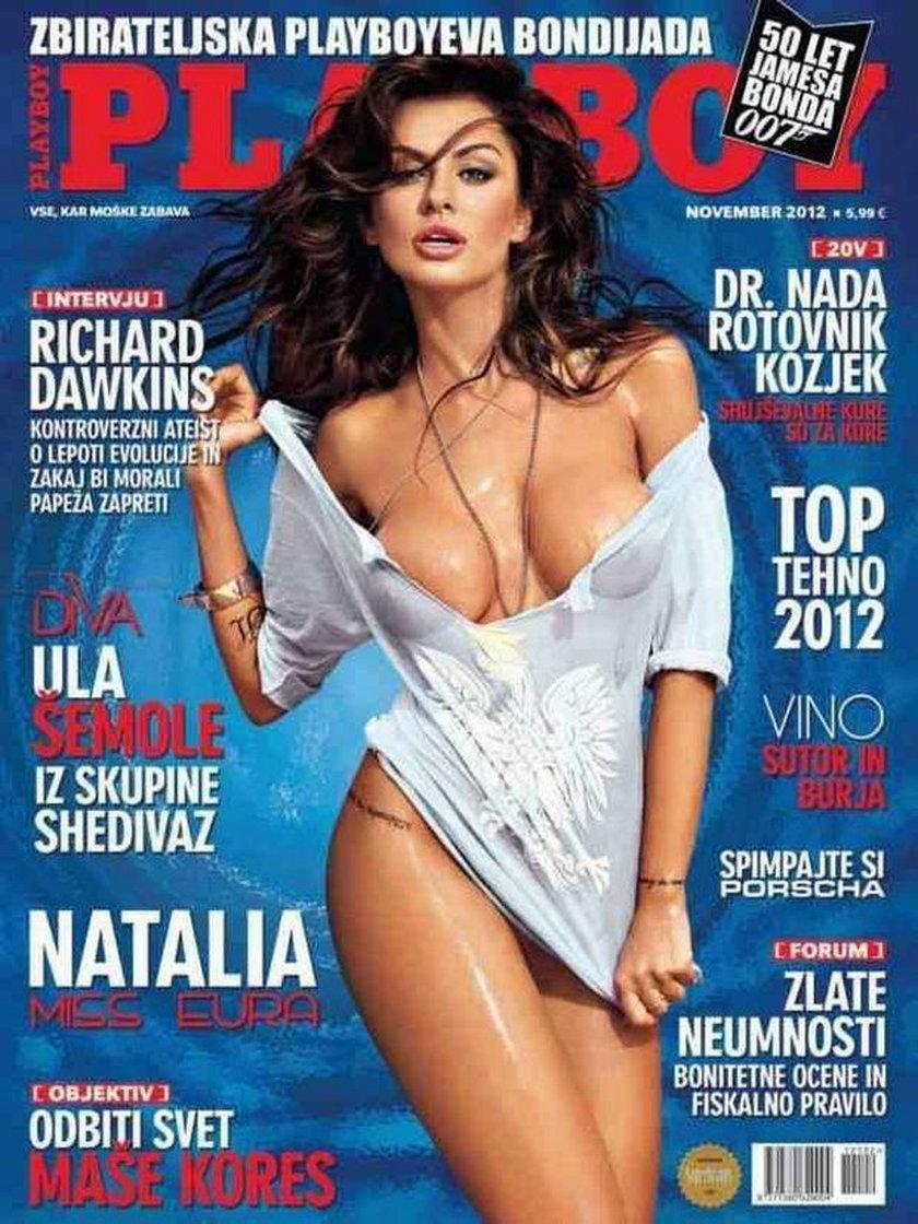 Natalia Siwiec na okładce Playboya