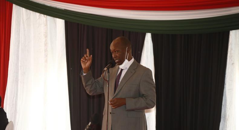 Nakuru Governor Lee Kinyanjui