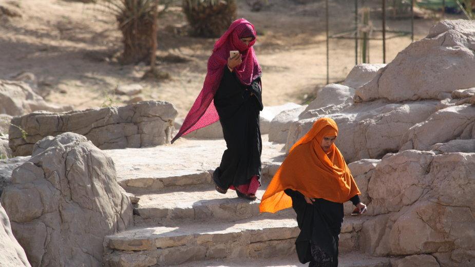 Agata Romaniuk opowiada o Omanie. Zdj. Iza Rudak