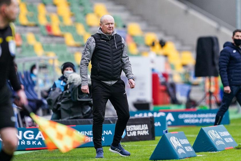 Robert Kasperczyk (54 l.) robi wszystko, by utrzymać Podbeskidzie Bielsko-Biała w ekstraklasie.