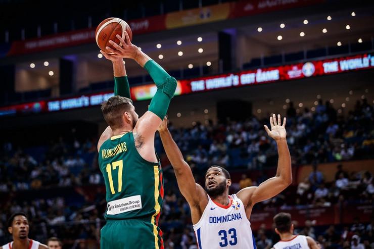 Košarkaška reprezentacija Litvanije, Dominikanske Republike