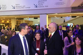 Vučić, Brnabić i Rama