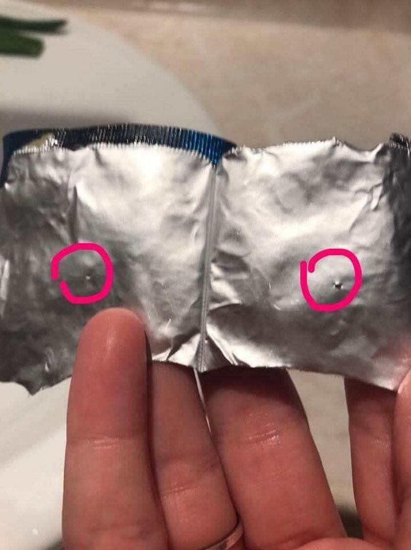 Uszkodzone prezerwatywy w znanym hipermarkecie. Kto za tym stoi?