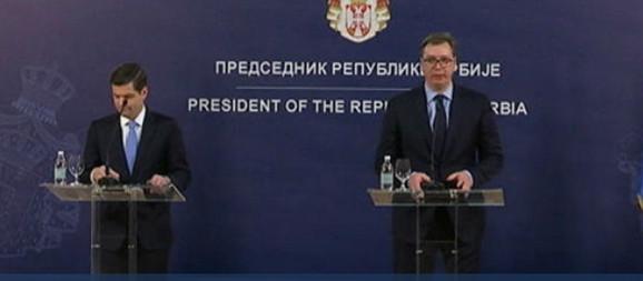Ves Mičel i Aleksandar Vučić