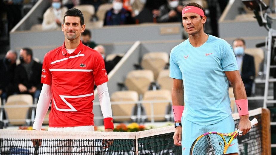 Novak Dźoković i Rafael Nadal